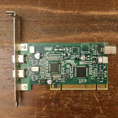 DELL 06D906 FIRESTORM FIREWIRE IEEE 1394 PCI Card Adapter (51007-9000 Expansion) • 15£