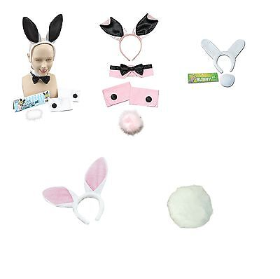 £7 • Buy Bunny Set And Accessories Rabbit Ears Tail Cuffs Fancy Dress Costume Hen Party