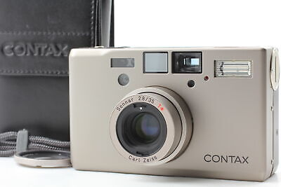 $ CDN2530.13 • Buy [TOP MINT 30.5 Adapter] Contax T3 Double Teeth Silver 35mm Film Camera JAPAN