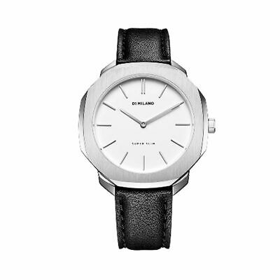 D1 Milano - Women Watch Super Slim 36mm In Italian Leather Black Strap • 40.99£