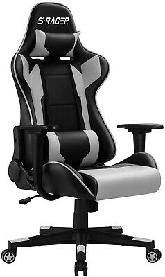 AU306.98 • Buy Gaming Chair Racing Computer Chair Pc Gamer Chair Ergonomic Chair Reclining Blue