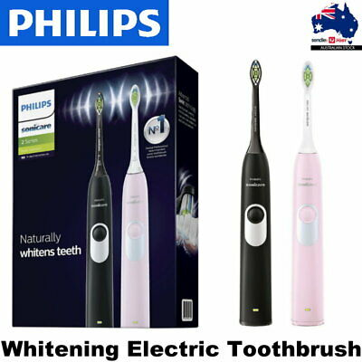 AU139.95 • Buy 2-Pack Philips Sonicare Gum Health Rechargeable Electric Toothbrush Black/Pink