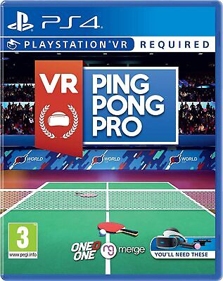 AU40.68 • Buy VR Ping Pong Pro Sony Playstation 4 PS4 Game