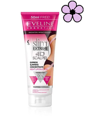 Eveline Slim Extreme 4d Express Anti-cellulite Concentrate Night Liposuction 250 • 7.89£