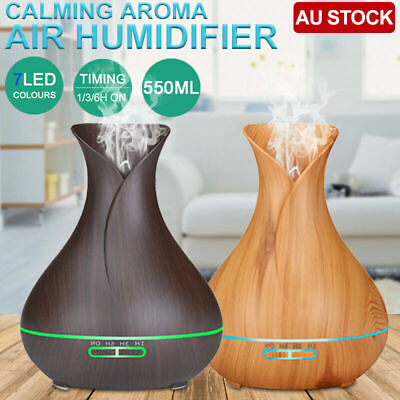 AU10.54 • Buy 500ml Essential Oil Air Humidifier Purifier LED Light Diffuser Aromatherapy AU