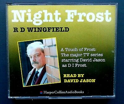 LIKE NEW! NIGHT FROST By R D WINGFIELD 3 CD AUDIOBOOK FREE P&P! • 8.95£