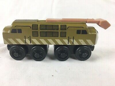Diesel 10 Thomas And Friends Wooden Train Engine 2003 Learning Curve • 7.52£