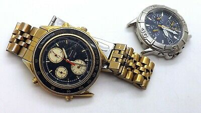 $ CDN138.03 • Buy Lot Of 2 Vintage Seiko Men's Chronograph Wrist Watches For Parts Or Repairs