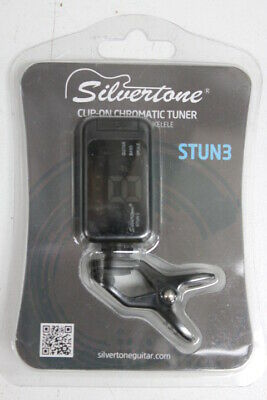 $ CDN11.91 • Buy Silvertone Clip-On Chromatic Tuner STUN3 Guitar Bass Ukulele! Free Shipping!