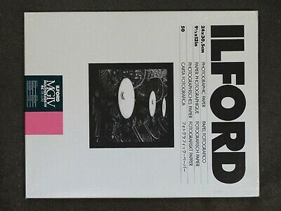 Ilford Multigrade IV RC Deluxe (Glossy) 24.0 X 30.5cm (9½ X 12 In) - 50 Sheets • 29.95£