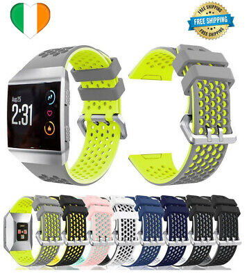 $ CDN13.68 • Buy For Fitbit Ionic Strap Silicone Sport Fitness Replacement Wrist Band Watch LARGE