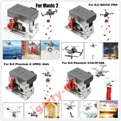 AU109.49 • Buy Drone Clip Payload Delivery Drop Transport Device For DJI MAVIC2/PRO/ Phantom4/3