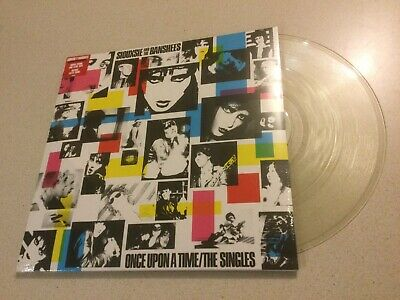 Siouxsie & The Banshees -  Once Upon A Time - Clear Vinyl Reissue Lp With Poster • 30£