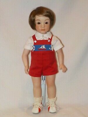 $ CDN56.48 • Buy 14  Artist Made Reproduction Little Boy Porcelain Doll By Boots Tyner Molds