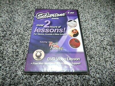 $ CDN16.17 • Buy Factory Sealed Silvertone Guitars Dvd Electric Acoustic & Bass 2 Hour Lesson Dvd