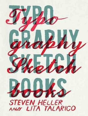 Typography Sketchbooks (English) Paperback Book Free Shipping! • 40.42£