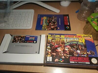 AU109 • Buy Donkey Kong Country 2 Diddy's Kong Quest Super Nintendo SNES PAL Game