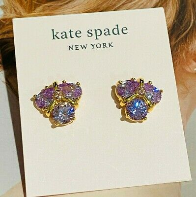 $ CDN25.05 • Buy Kate Spade Purple Zircon Stud Earrings