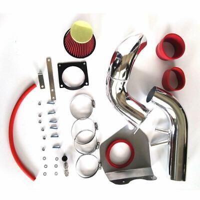 $47.52 • Buy Cold Air Intake + Red Filter Kit For 96-04 Ford Mustang GT 4.6L V8 Coupe 2-Door