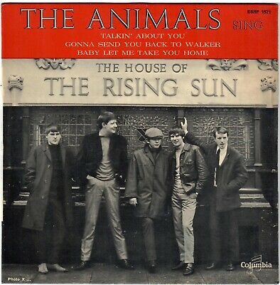£15.46 • Buy ANIMALS House Of The Rising Sun Talking About You 1964 EP Beat Mod Super état