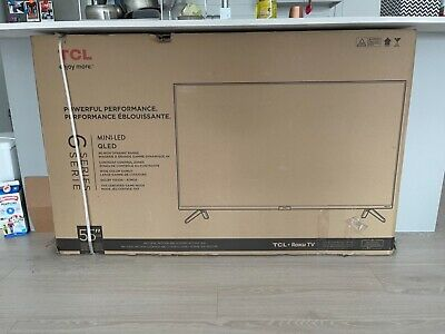 $ CDN900 • Buy 55 Inch TCL 6 Series QLED, Roku Tv, Mini LED Which Was Recently Launched.
