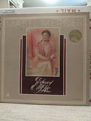 $14.99 • Buy Mabel Mercer,Audiophile 161/162, Echoes Of My Life US DBL LP Stereo Gatefold