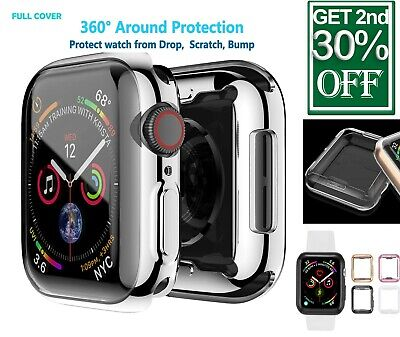 AU5.58 • Buy For Apple Watch Case Series SE 6 5 4 3 2 Protector TPU Full Cover 38 40 42 44mm
