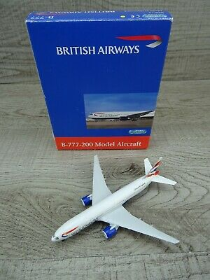 $27.45 • Buy Schabak 928/14 Boeing 777-200 British Airways United Kingdom Aircraft 1:600