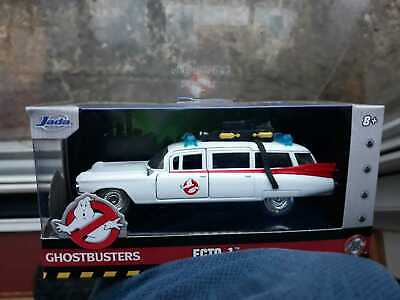 Ghostbusters CADILLAC ECTO 1 DIECAST 5in 1/32 Scale Model SEALED Boxed  *  New • 23.50£