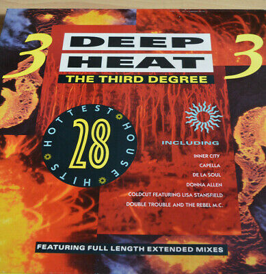 Deep Heat 3 The Third Degree - Double Vinyl Lp - Various Artists  • 3.20£