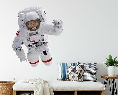 £15.99 • Buy Astronaut Wall Sticker - NASA Space Theme Personalised For Bedroom, Playroom