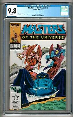 $249.99 • Buy Masters Of The Universe #5 (1987) CGC 9.8 White Pages  Carlin - Wilson - Janke