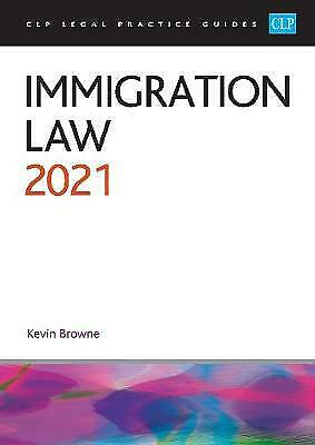 Immigration Law 2021 - 9781913226886 • 30.45£