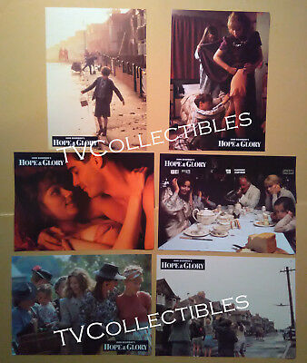 AU13.11 • Buy Lobby Card Lot~ HOPE AND GLORY ~Sarah Miles ~David Hayman~Sebastian Rice-Edwards