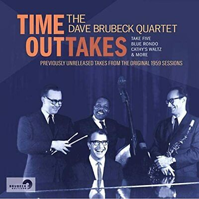 £11.99 • Buy The Dave Brubeck Quartet - Time Outtakes (NEW CD)