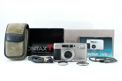 $ CDN506.27 • Buy [Mint In BOX] Contax TVS 35mm Point & Shoot Film Camera W/Case From JAPAN #336