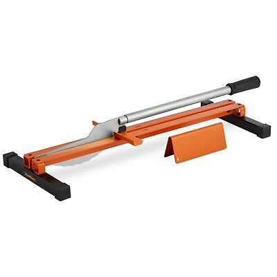 Manual Laminate Floor Cutter Portable V-Support Frame Parallel Angled Cuts 600mm • 44.99£