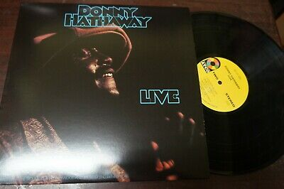DONNY HATHAWAY - Live, LP 12  USA 180 Grms • 21.53£