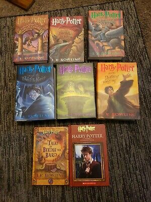 $ CDN40.51 • Buy Lot Of 8 Harry Potter Hardcover Books By J.K. Rowling Missing Book 4.