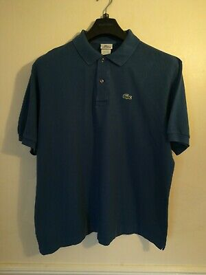 Men's Lacoste Polo Shirt Size 7 PTP Is 25 Inches • 9.99£