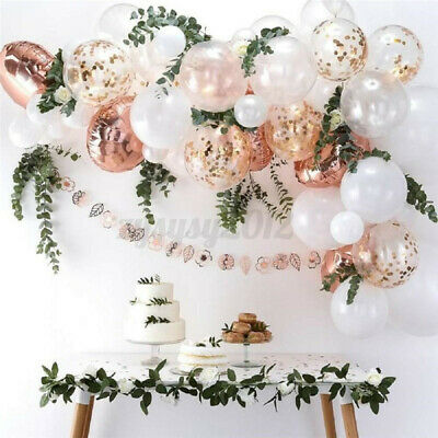 Confetti Latex Balloon Arch Kit Garland Wedding Baby Shower Birthday Party Deco • 8.79£