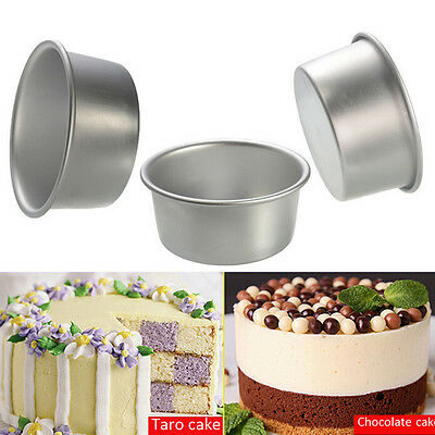 AU12.99 • Buy 4/5/6/7/8 Inch Cake Mold Round DIY Cakes Pastry Mould Baking Tin Pan Reusable