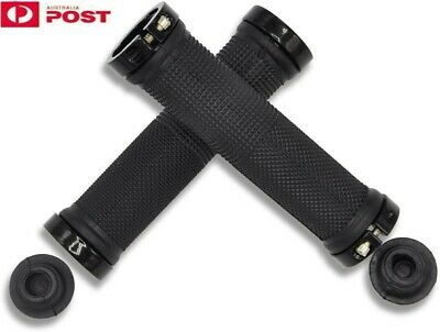 AU13.39 • Buy 1Pair Bike Handlebar Grips MTB/BMX Rubber Non-slip Durable Bicycle Handle Grips