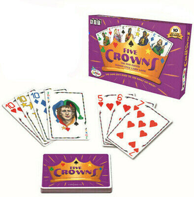 AU20.99 • Buy 2X Five Crowns Card Game 5 Suites Classic Original Family Party Rummy Style Play