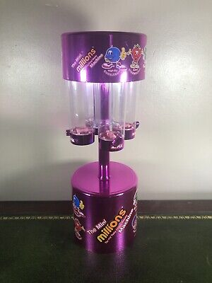Millions Mini-Sweet Dispenser Toy Machine - Used Empty • 14.99£