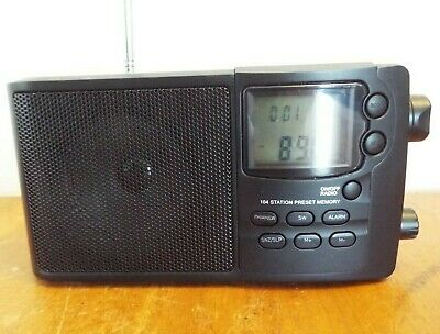 Coopers Air Band Portable Radio Shortwave FM/AM/LW/SW 104 Station Preset Memory • 12.99£
