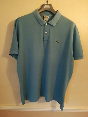 Men's Lacoste Polo Shirt Size 8 PTP Is 26 Inches Excellent Used Condition • 9.99£