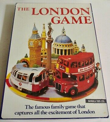 £22.50 • Buy Vintage ~ The London  Game ~ Race Around London Underground ~ Excellent   *