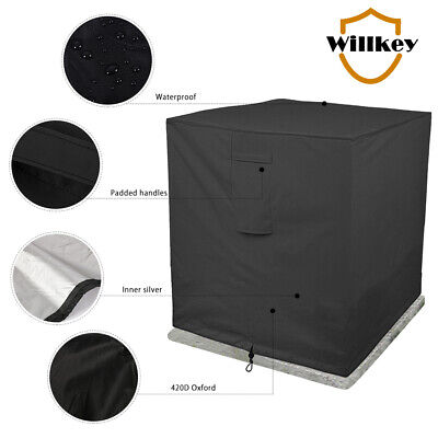 AU39.59 • Buy Outdoor Air Conditioner Cover Protector Anti-Dust Anti-Snow Sunproof Waterproof