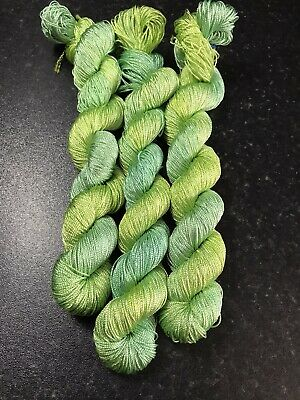 Silk Lace Weight 100g Stunning Silk Smooth Soft And Shiny  Hand Dyed💋 • 10£
